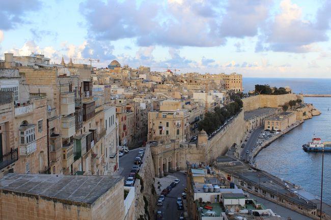 地中海に浮かぶ要塞都市、ヴァレ...