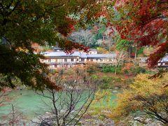いつも雨のどしゃぶりバスツアーIN嵐山
