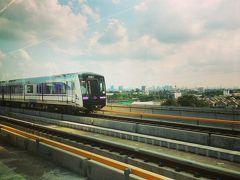 2016年乾季のバンコク旅行3 MRTパープルライン乗車