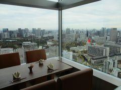 プリンスギャラリー紀尾井町、35階の蒼天、から街歩きよりよくわかる永田町近景。