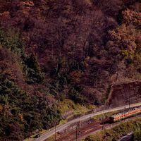 晩秋の裏妙義・麻苧の滝自然公園に訪れてみた