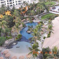 陰陽道 ハワイ・オアフ島・コオリナ  Marriott's Ko Olina Beach Club 2016 11 13~17 ニコン60倍No.2