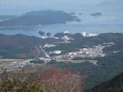 伊勢志摩スカイラインを走る。朝熊山(あさまやま)展望台からの眺めがすばらしい。