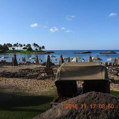 陰陽道 ハワイ・オアフ島 Marriott's Ko Olina Beach Club 2016 11 17~19   ニコン60倍 No.2