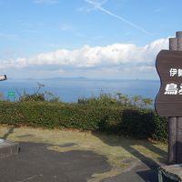 パール・ロードを鳥羽展望台まで走る。賢島,大王崎方面がよく見えました。