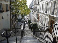 秋パリ〈6日目〉パリ散歩(モンマルトル・サンジェルマン デ プレ・クレイジーホース)