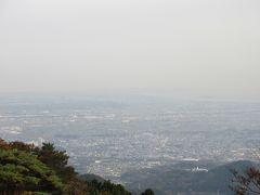 大山阿夫利神社で下界を見下ろす