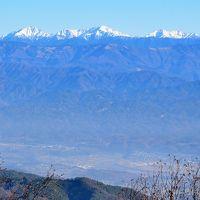 風越山(1536m) 南アルプスの展望台