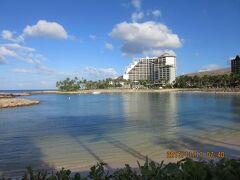 陰陽道 ハワイ・コオリナ 動画 Ko Olina~Aulani 遊歩道 Marriott's Ko Olina Beach Club   2016 11 16 黒キャノンNo.19