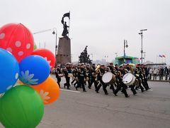 4.5月1日祝日、春と労働の日
