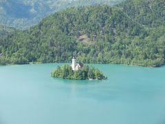スロベニア、クロアチアの旅 絵本のように美しいブレッド湖、美しいプリトヴィッツェ湖 ブレッド湖編②