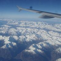 2016冬・年末の長旅(パート2:約6年ぶりの欧州へ、アルプス眺望の旅)