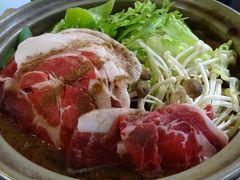 この冬初めて、丹波篠山へボタン鍋を食べに行きました。