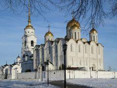 黄金の門とウスペンスキー大聖堂(ウラジーミル)