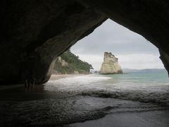 NZ コロマンデル半島のフィティアンガで絶景カセドラル・コーブ♪(2)