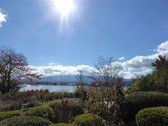 晩秋の優雅な伊豆と富士五湖 愛犬セレブの旅♪ Vol21(第4日目) ☆河口湖:「レイクベイク」 愛犬と一緒に優雅なランチ♪