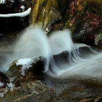 ◆初冬の羽鳥湖高原・立矢川の滝