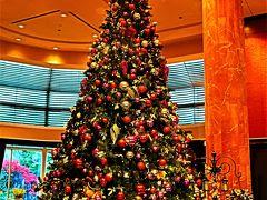 恵比寿-3 ウェスティンホテル東京 ロビー訪問 ☆豪華なクリスマスツリー