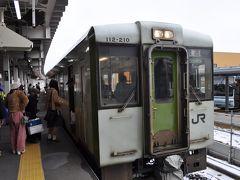 2016年12月散々だったプチ鉄道旅行1(飯山線)