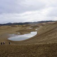 クリスマスイブに1人鳥取砂丘に立つ 最後に鳥取で「クリぼっち」