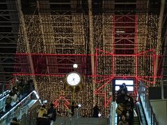 大阪・光の饗宴2016(6)完 大阪ステーションシティ5階・時空の広場