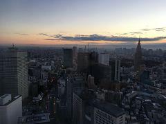 12月一時帰国①PARK HYATT TOKYO