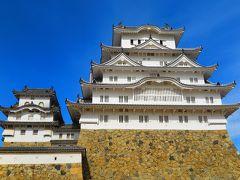 姫路城 白くてハッキリクッキリ