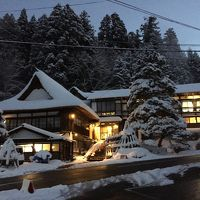 蔵王でスキー【3】西屋、天元台高原スキー場、上杉神社、等