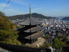 2016年 広島・尾道 その3 猫の細道とお寺巡り。午後からはクラスメートとロープウェイに乗りました。
