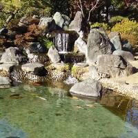 石和温泉へ