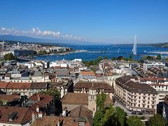 スイス・ジュネーブから列車とレンタカーで世界遺産の街と氷河を巡る旅