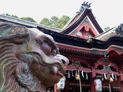 2017年の穏やかな初詣@備後一宮 吉備津神社