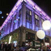 ロンドン一人旅☆1日目到着早々クリスマスモードの街とテニスファイナルズ観戦でO2アリーナへ