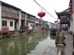 現地駐在員の冬休み上海一人旅(3日目) 蘇州(寒山寺、山塘街、虎丘)と今話題の上海大江戸温泉物語へ