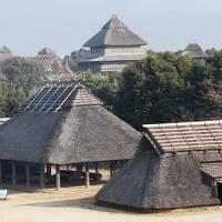 吉野ヶ里温泉卑弥呼の湯に宿泊して吉野ヶ里歴史公園探訪