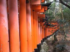 初詣は京都へ Vol.2 人だかりの伏見稲荷 体力勝負の山登り
