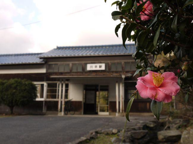 ※これは、ローカルな駅に特に何の用事もなく訪れることを目的にした旅行記です。<br />ーーーーーーーーーーーーーーーーーーーーーーーーーーーー<br /><br />始発から三江線を乗り倒すというとても楽しい旅をしてた。<br />午前中は天空の駅・宇都井駅と秘境駅・長谷駅がメイン。<br />お昼は沿線でも大きな町の石見川本と江津本町を散策。<br /><br />さて、後半戦です。<br />三江線には沢山の素敵な古い駅舎が残ってるらしい。<br />それはぜひとも行かなきゃいけないなぁ♪<br />どこも惹かれたけど、厳選して川平駅と因原駅へ。<br /><br />暗くなるまで乗り倒して、本日のゴールは終点の江津駅!<br /><br />・・・・・でも途中からすごい頭痛が・・・(´Д⊂ヽ<br />おかげでもう一つ行こうと思った駅は諦めた;無念。。。<br /><br />