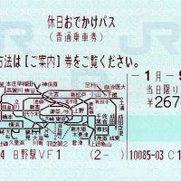 休日おでかけパスで東京近郊を巡る旅