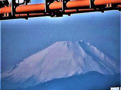 屋形船2/5 羽田空港沖 離着陸の機影を追って ☆冬晴れ!富士山くっきりと