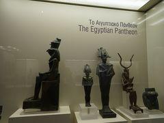 アテネ国立考古学博物館【6】エジプトコレクション・青銅器(ブロンズ)コレクション