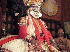南西インドの旅 (15)                   コーチンでカターカリ・ダンスを観る。