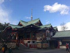 一日で東京十社のご朱印を拝領する旅
