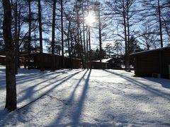 冬の優雅な軽井沢バカンス♪ Vol.2(第1日目) ☆プリンスホテルドッグコテージ:愛犬と一緒に遊ぶ♪