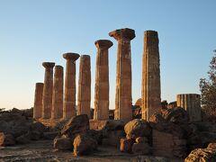 太陽がいっぱい!南イタリア・シチリア島の旅3 (3日目 アグリジェントの遺跡(OP))