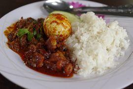 ランカウイ島旅行 5-1 最終日の朝飯はタコのナシカンダー