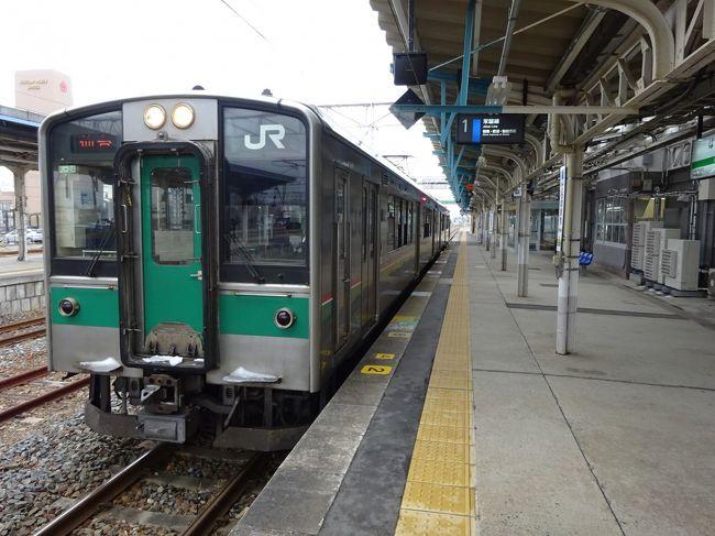 常磐線復旧区間とその周辺に行ってきた【その3】 常磐線復旧区間に乗車