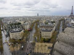 パリ~アルザス・ドライブ #27 - 番外編、凱旋門から眺めたパリの街