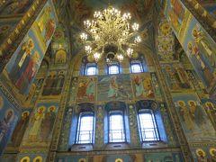 ロシア・南ドイツ 観劇の旅 � St. Petersburg3日目  スパース・ナ・クラヴィー大聖堂、イサク大聖堂