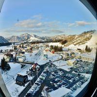 三世代で巡るスキー旅行 孫の誕生日パーティ ホテル エンゼルグランディア 越後中里、湯沢中里スキー場と中里スノーウッドスキー場の旅