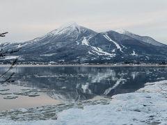 冬の風物詩、しぶき氷